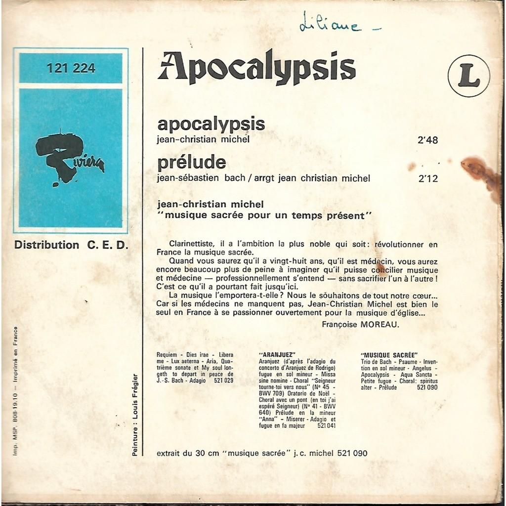 jean-christian michel Apocalypsis