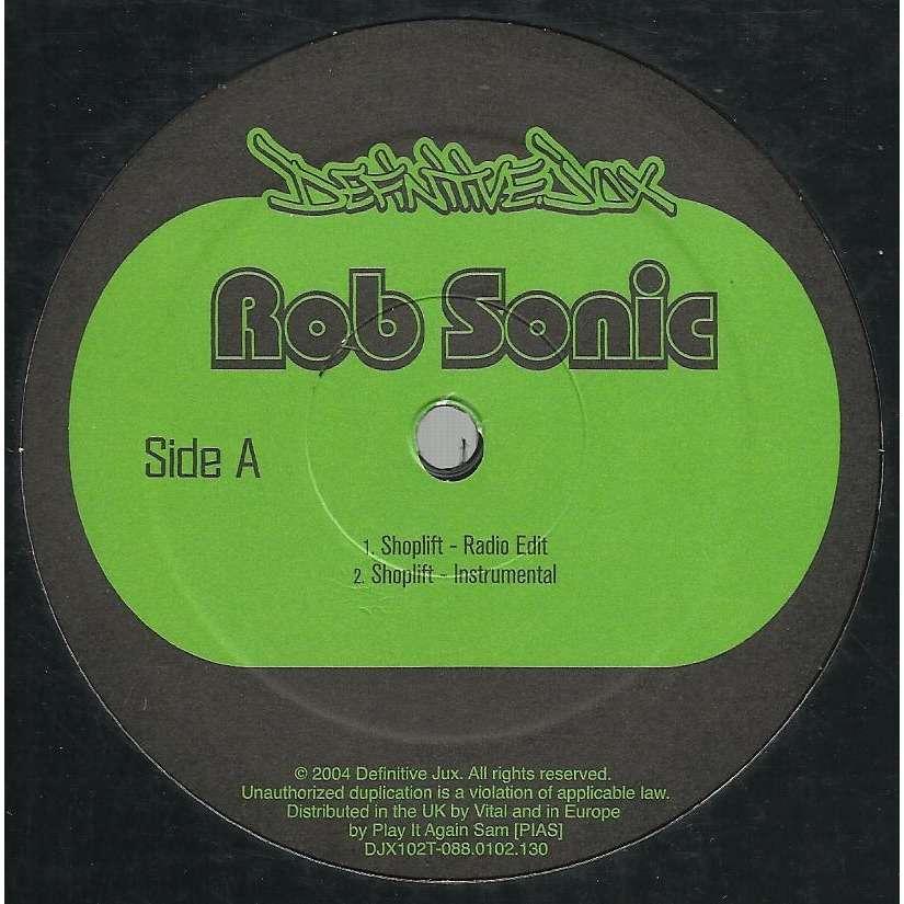 ROB SONIC shoplift / instru  / shoplift , el-p  remix / instru  / dylsexia  , aesop rock mix