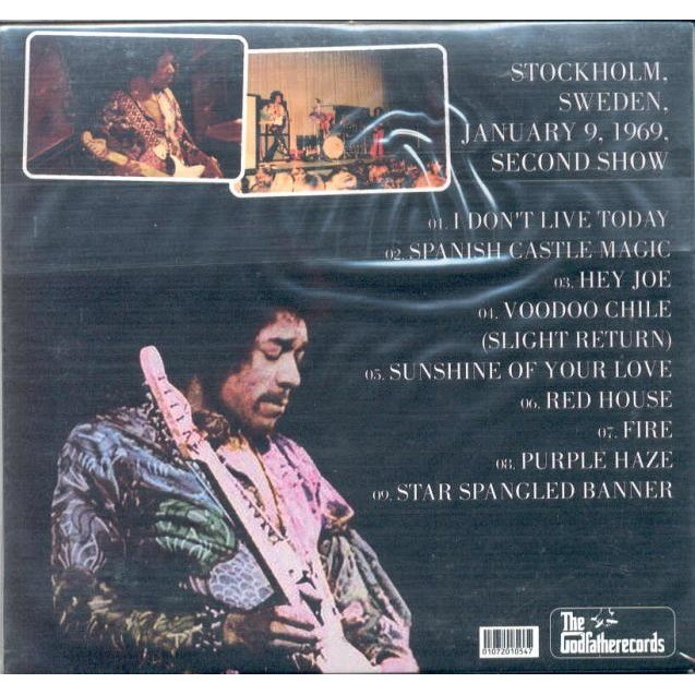 Jimi Hendrix It's Going To Be A Bit Loud (Stockholm Sweden 09.01.1969 2nd Show)
