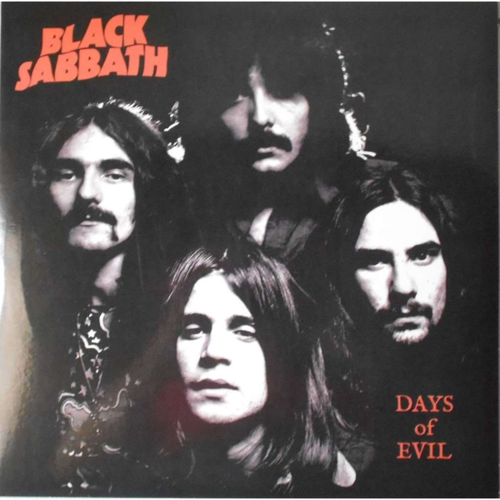 Black Sabbath Days Of Evil (lp) Ltd Edit Colored Vinyl -E.U