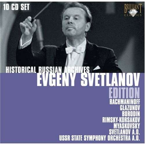 Various Composers Historical Russian Archives: Evgeny Svetlanov Edition /  USSR State Symphony Orchestra, Et Al