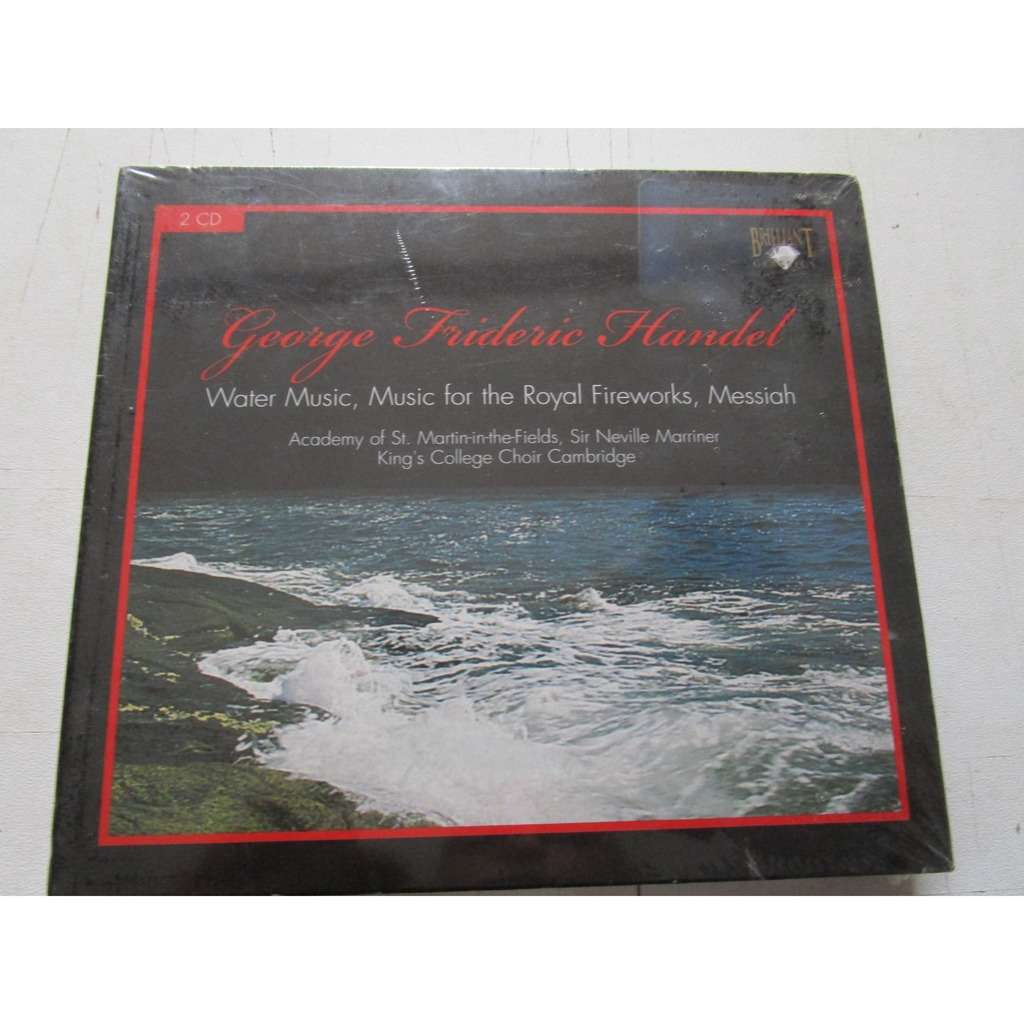 Water music,music for the royal,fireworks,messiah by George Frideric ...