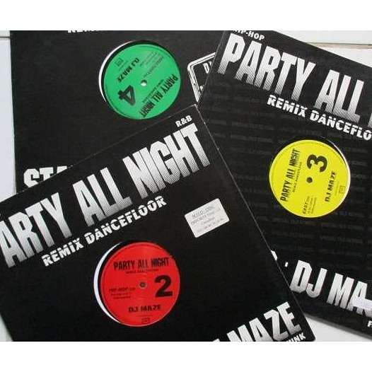 dj maze party all night 2 +3 +4