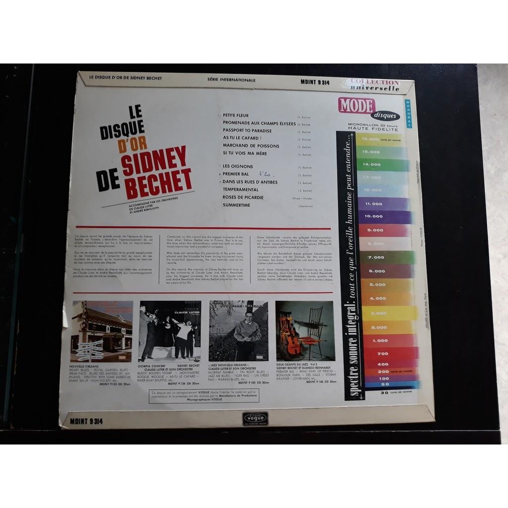 Sidney Bechet - Le Disque D'Or De Sidney Bechet (L Sidney Bechet - Le Disque D'Or De Sidney Bechet (LP, Mono)