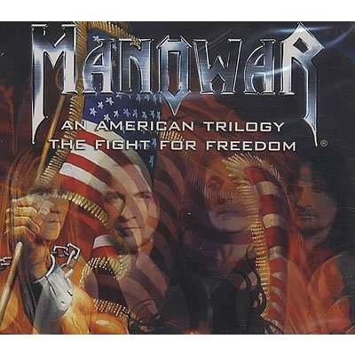Manowar An American Trilogy / The Fight For Freedom (lp) Ltd Edit Colored Vinyl -Ger
