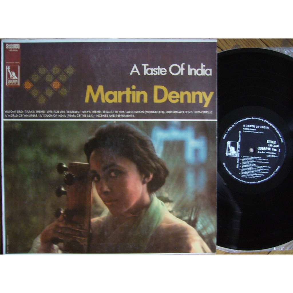 MARTIN DENNY A Taste of India INDIA LIBERTY LST-7550 NM