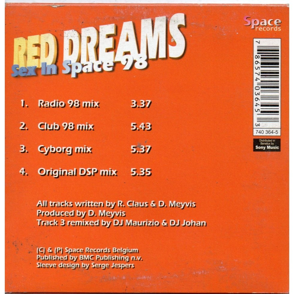 red dreams sex in space
