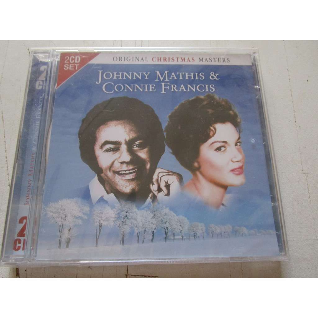 Original christmas masters by Johnny Mathis & Connie Francis, CD x 2 ...