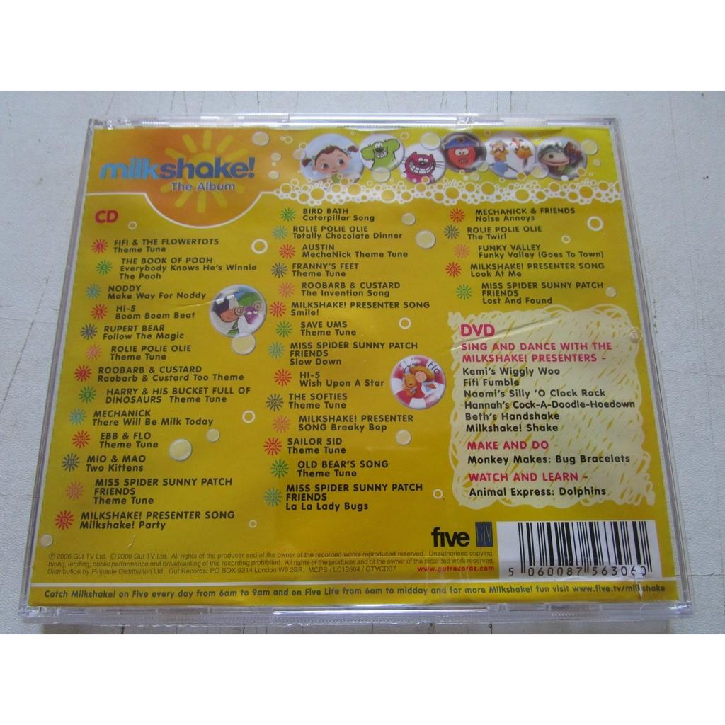 Milkshake The Album By Cd Dvd Cd X 2 With Vinylesretro