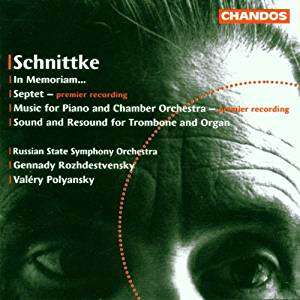 Alfred Schnittke In Memoriam... Septet - Music for Piano and Chamber Orchestra - Sound and Resound for Trombone & Org
