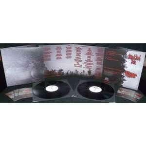 COSMIC CHURCH / BLOOD RED FOG Split LP