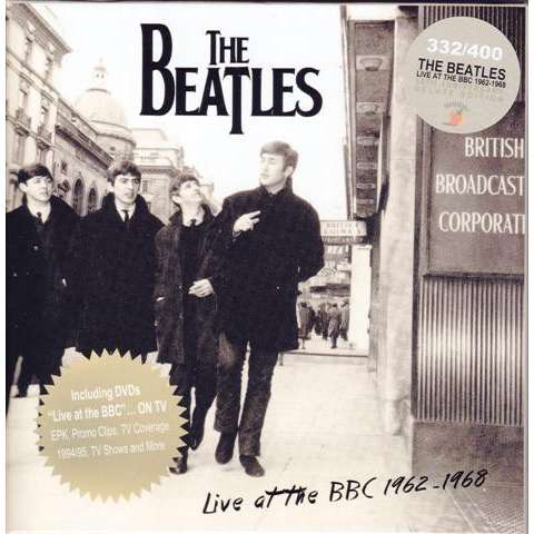 BEATLES	LIVE AT THE BBC 1962-1968 (50TH ANNIVERSARY DELUXE EDITION) (13cd + 2dvd box set)
