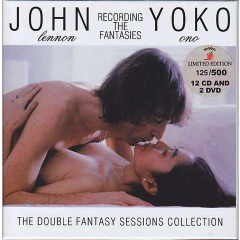 Beatles / John Lennon / Yoko Ono Recording The Fantasies (The Double Fantasy Sessions Collection) 12cd + 2dvd Box Set