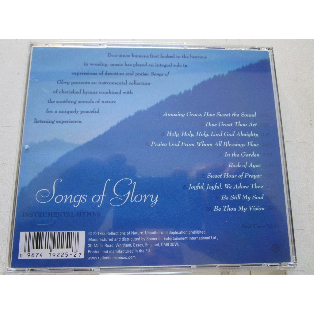 Songs of glory - instrumental hymns by Michael Stanton, CD with vinylesretro