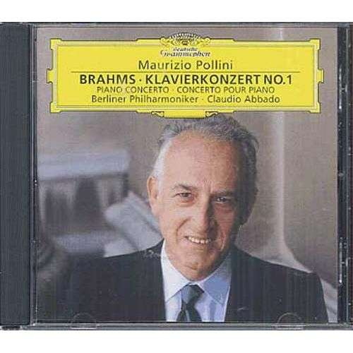 brahms , maurizio pollini piano concerto