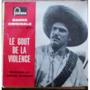 andré hossein bof le gout de la violence ( proche NM / EX )