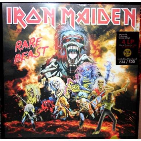 IRON MAIDEN RARE BEAST (4LP + 3CD BOX)