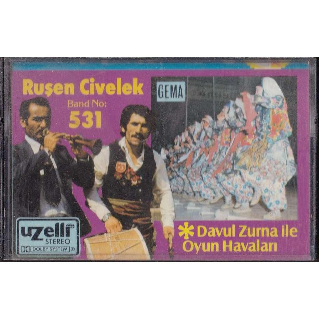 Davul Zurna Ile Oyun Havalari Rusen Civelek Band 531