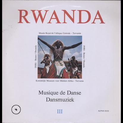 Rwanda vol.3 musique de danse