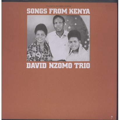David Nzomo Trio Songs from Kenya