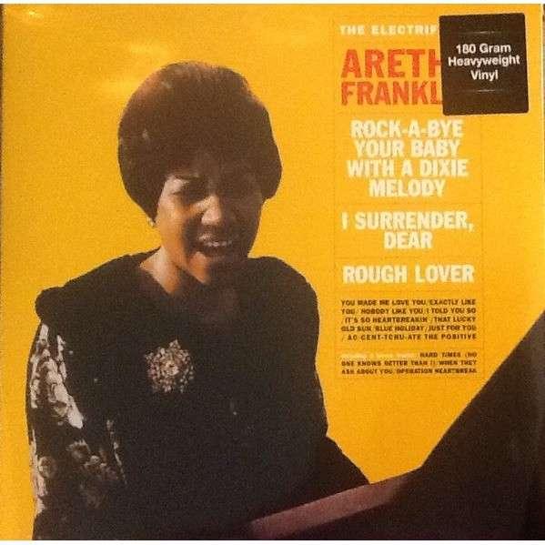 aretha franklin THE ELECTRIFYING Aretha Franklin (HQ vinyl / 180gr. / + 3 bonus tracks)