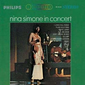 NINA SIMONE IN CONCERT (HQ vinyl / 180 gr.)