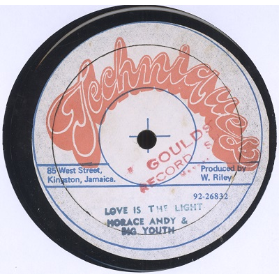 Horace Andy & Big Youth Love is the light