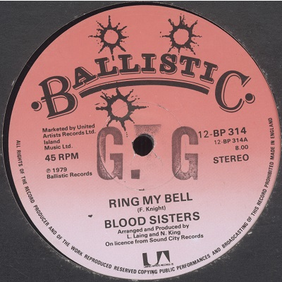 Blood Sisters Ring my bell