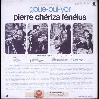 Pierre Chériza Fénélus au dela du vaudou