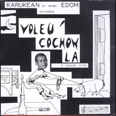 Karukean orchestre Voleu' cochon la EP