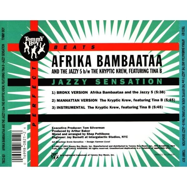 Afrika Bambaataa And The Jazzy 5 / Kryptic Krew Jazzy Sensation