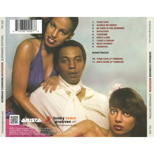 Invitation By Norman Connors Cd With Philboogietimes Ref 3417695583
