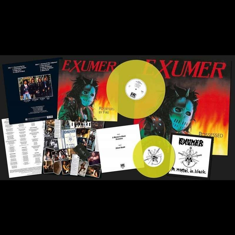 EXUMER Possessed by Fire. Yellow Vinyl