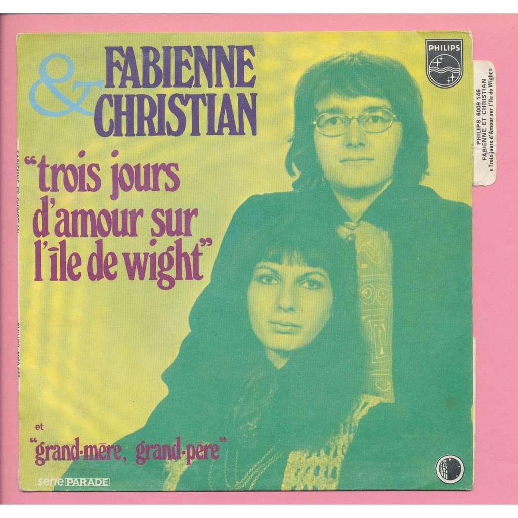 Fabienne Christian Fabienne Elkoubi Trois Jours D Amour Sur L Ile De Wight Grand Mère Grand Père