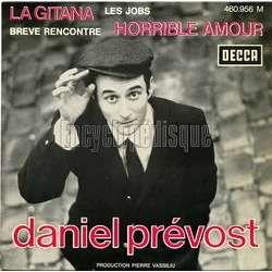 DANIEL PREVOST la gitana + 3 YVAN JULLIEN 60°s POP JAZZ EP