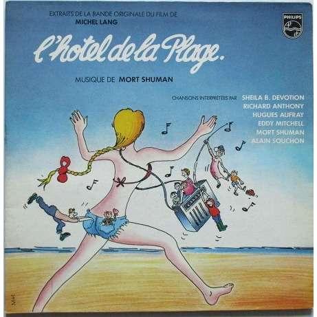 mort shuman / sheila b / aufray / eddy mitchell .. L'HOTEL DE LA PLAGE - soundtrack b.o.f.