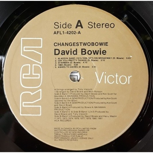 david bowie changes two