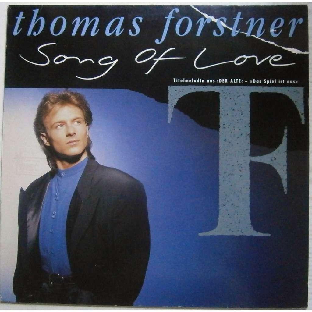thomas forstner song of love