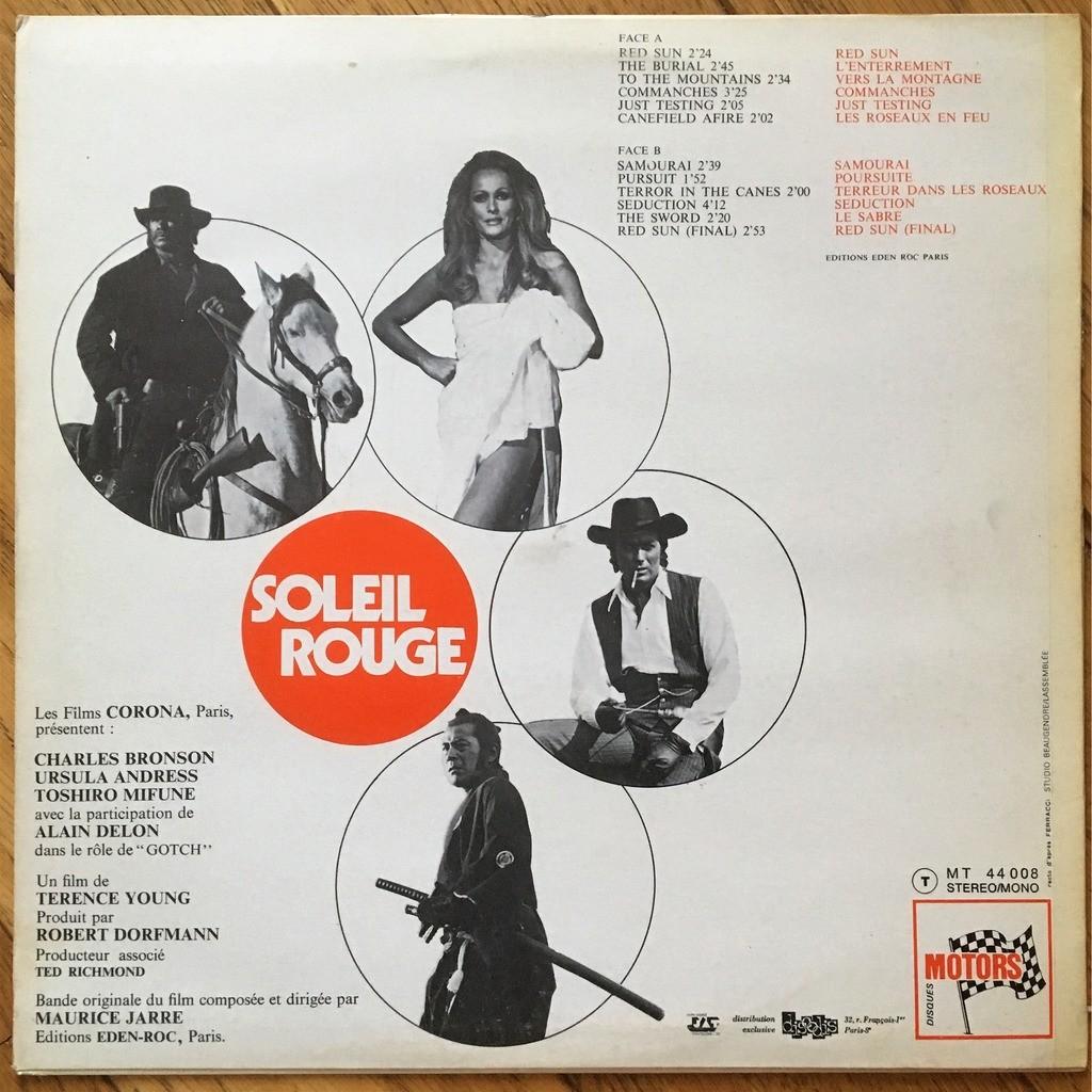 Maurice Jarre  Soleil Rouge - Red Sun (Bande Originale Du Film)