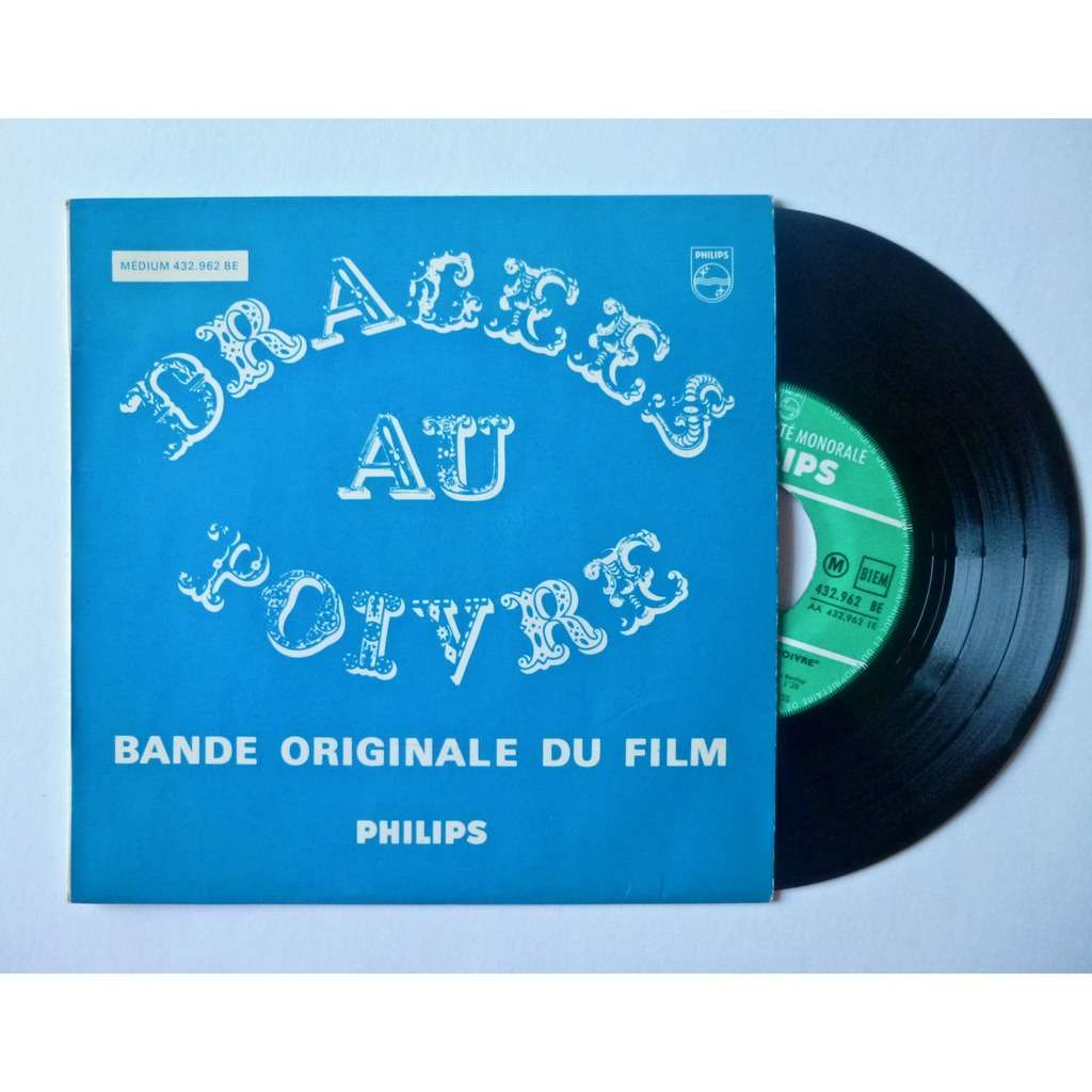 GUY BEDOS / LES ZOOMS / ANNA KARINA (FRENCH OST) DRAGEES AU POIVRE (FRENCH SOUNDTRACK)