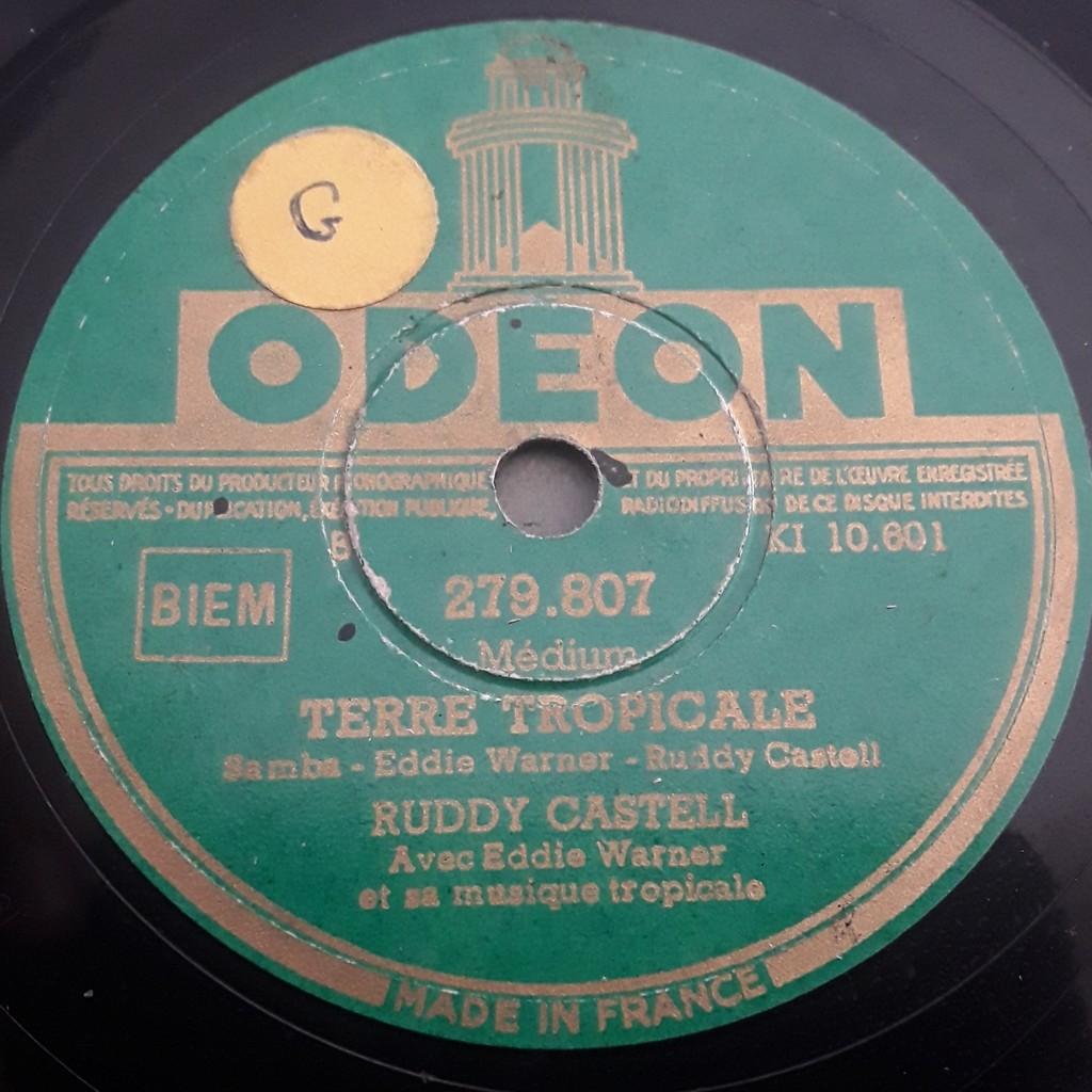 Ruddy castell avec Eddy Warner Tierra va Tembla - Terre Tropicale