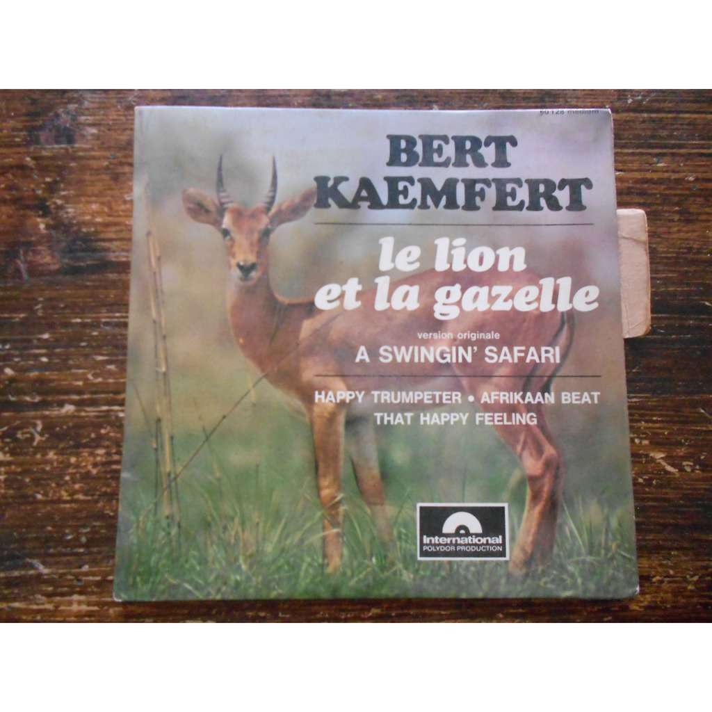 bert kaempfert a swingin' safari - happy trumpeter - afrikaan beat - that happy feeling