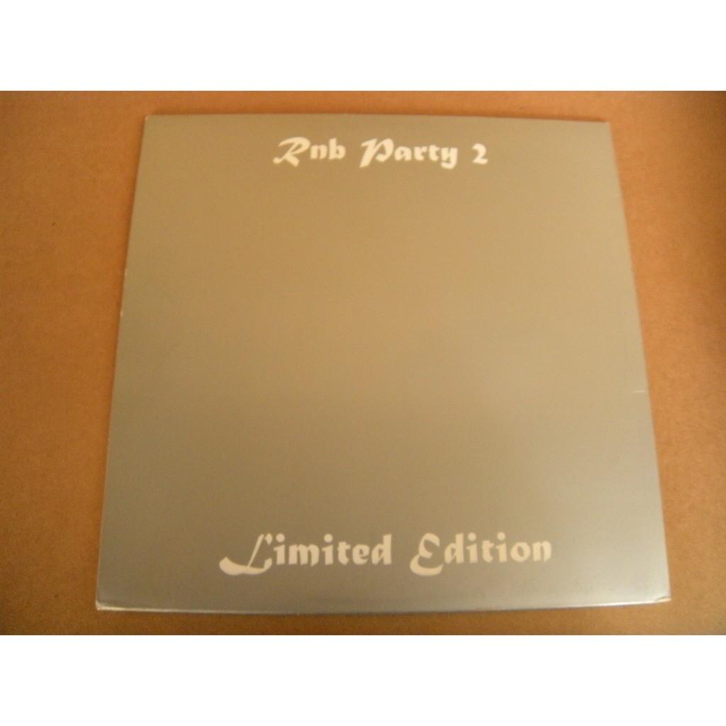 RnB PARTY 2 COMPILATION:JALANE / GREG (Edition limitée)