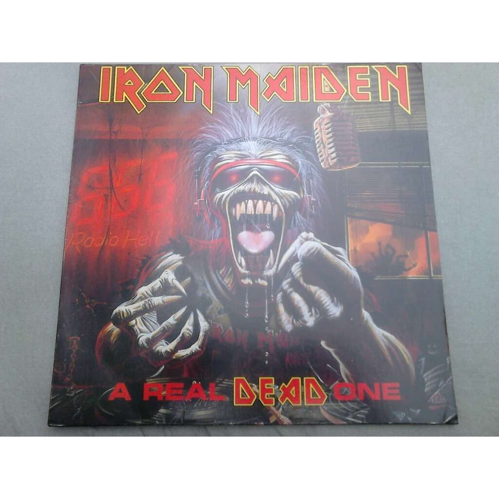 Iron Maiden A Real Dead One (Brazil release 1993) Without barcode