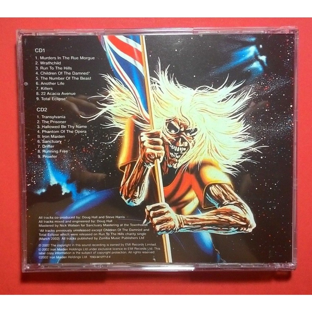 IRON MAIDEN Beast Over Hammersmith (Russia release 2002 double CD)