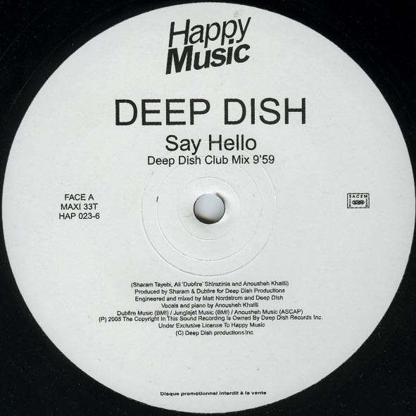 deep dish Say Hello (promo)