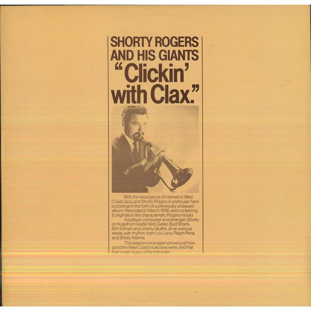 SHORTY ROGERS CLICKIN' WITH CLAX