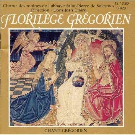 Chœur Des Moines Abbaye Saint-Pierre De Solesmes Florilège Grégorien - Chant Grégorien