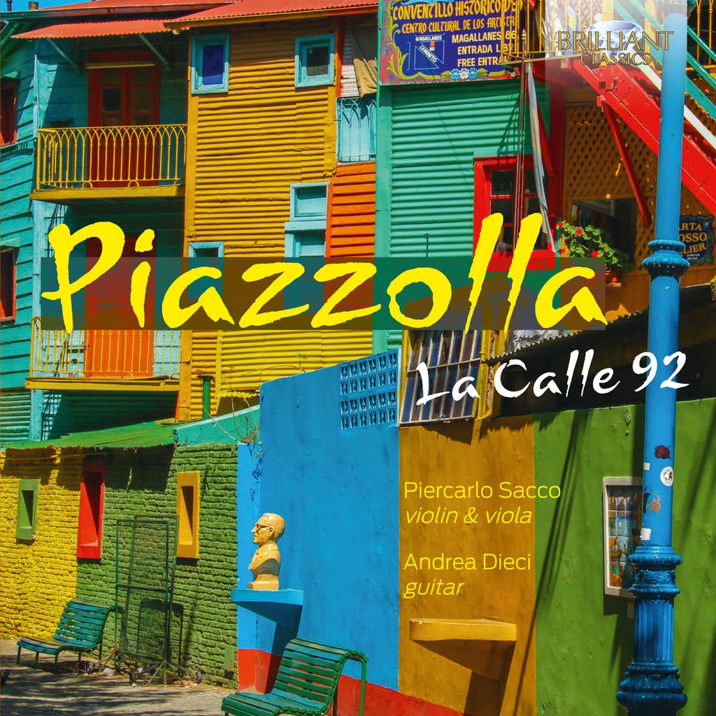 divers artistes - various artist PIAZZOLLA: La Calle 92