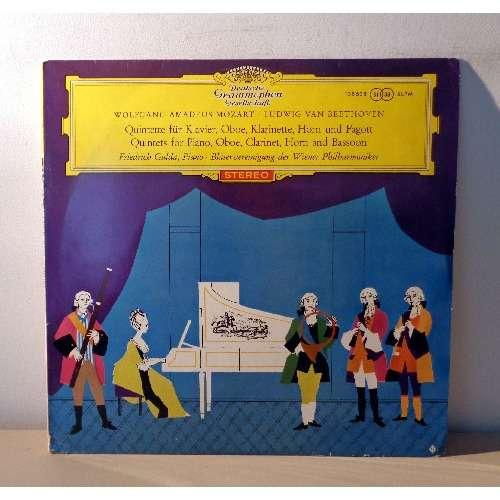 FRIEDRICH GULDA & WIENER WIND ENSEMBLE MOZART & BEETHOVEN quintett for winds